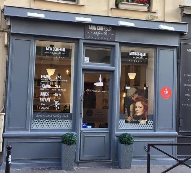 Salons coiffure archive mon coiffeur ma famille exclusif for Salon sur paris