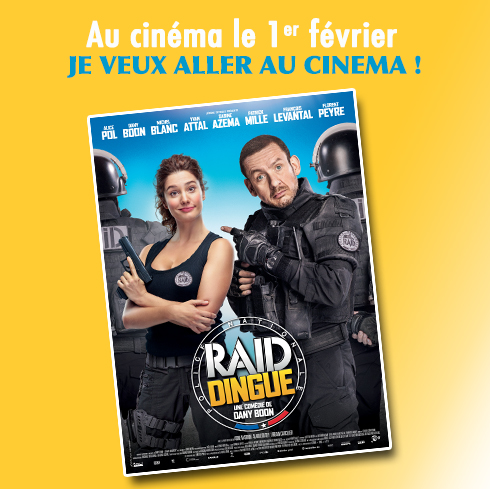 Grand jeu concours cinéma RAID DINGUE
